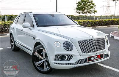 BENTLEY BENTAYGA | 2017 | GCC | WARRANTY