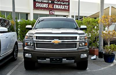 CHEVROLET SILVERADO HIGH COUNTRY- 2015- BROWN- 25 000 KM-...
