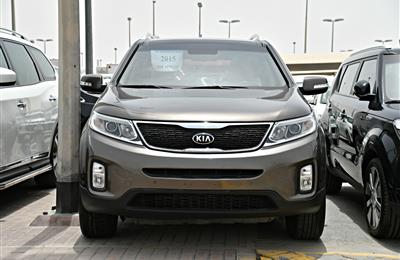 kia sorento model 2015 - brown - 128,000 km - v6 - gcc