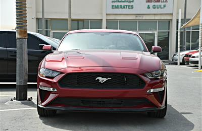 FORD MUSTANG MODEL 2018 - RED - 2000 MILEAGE  - V4 - CAR...