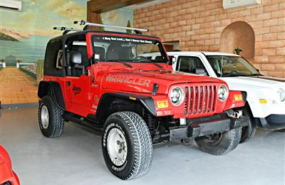 JEEP WRANGLER SPORT MODEL 2005 - RED - 138,000 KM - V6 -...