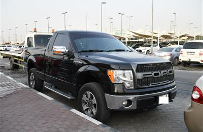 FORD F150- 2014- BLACK- 122 000 KM- GCC SPECS
