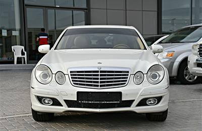 MERCEDES BENZ E350 MODEL 2009 - WHITE - 38,000 KM - V6 -...