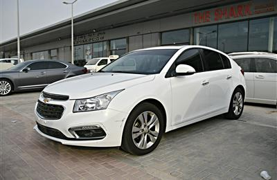 CHEVROLET CRUZE LT MODEL 2016 - WHITE - 70,000 KM - V4 -...