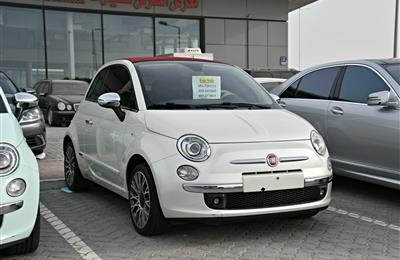 FIAT C500 MODEL 2013 - WHITE - 74,000 KM - V4 - GCC
