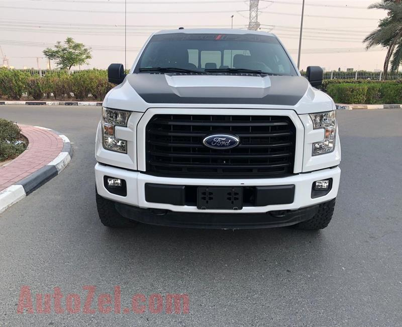 FORD F150 FLEX FUEL 2016  46000KM