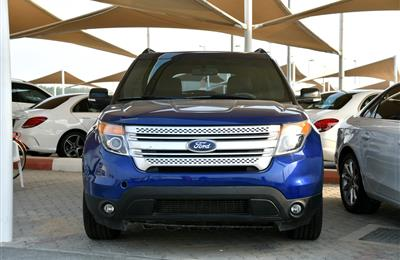 FORD EXPLORER XLT, V6- 2013- BLUE- 191 000 KM- GCC