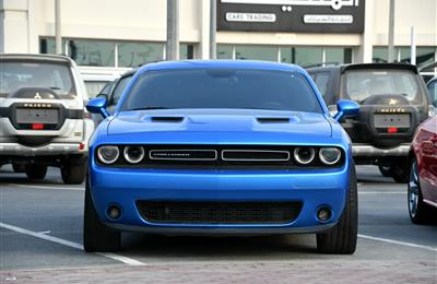 DODGE CHALLENGER, V6- 2015- BLUE- 113 000 KM- GCC