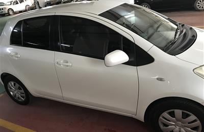 Toyota yaris 2011 excellent condition gcc specification