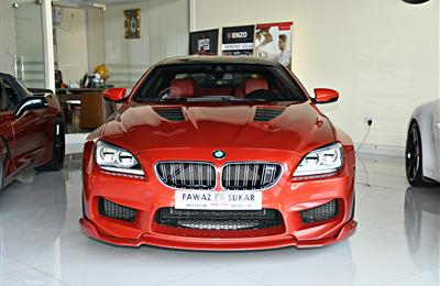 BMW M6 MODEL 2014 - RED - 153,000 KM - V8 - GCC
