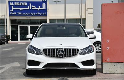 MERCEDES-BENZ E300- 2016- WHITE- 35 000 KM- GCC SPECS