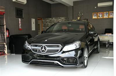 MERCEDES-BENZ E350 KIT E63- 2016- BLACK- GCC
