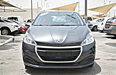 PEUGEOT  208   MODEL 2016 - GREY - 74,000KM - V4 - GCC