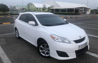 Toyota Matrix 2009 full option No 1driven by lady 12500...