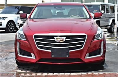 CADILAC  CTS MODEL 2013 - RED - 97,000 KM - V4 - GCC