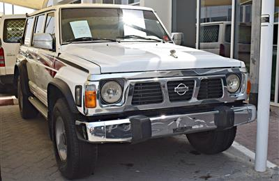 NISSAN SUPER SAFARI MODEL 1995 - 280,000 KM - WHITE - V6 -...