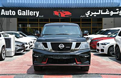 NISSAN PATROL NISMO MODEL 2017 - BLACK - 78,000 - V8 - GCC...