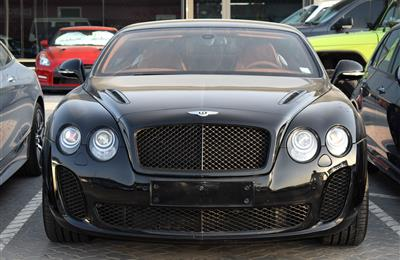BENTLEY CONTINENTAL GT: SPEED MULLINER- 2011- BLACK- 143...