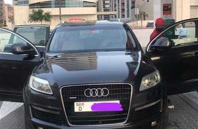Audi Q7 in a good conditions for sale