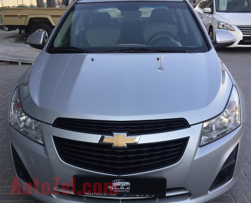 Chevrolet Cruze Ls 2015 Silver 110 000 Km Gcc