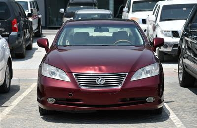 LEXUS ES350- 2007- RED- 100 000 KM- GCC