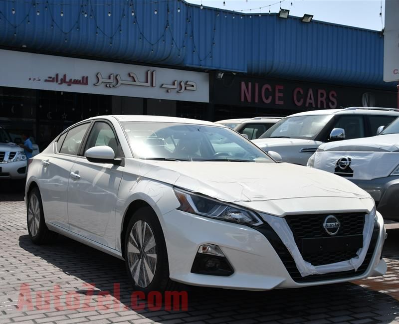 BRAND NEW NISSAN ALTIMA- 2020- WHITE- GCC SPECS- WARRANTY
