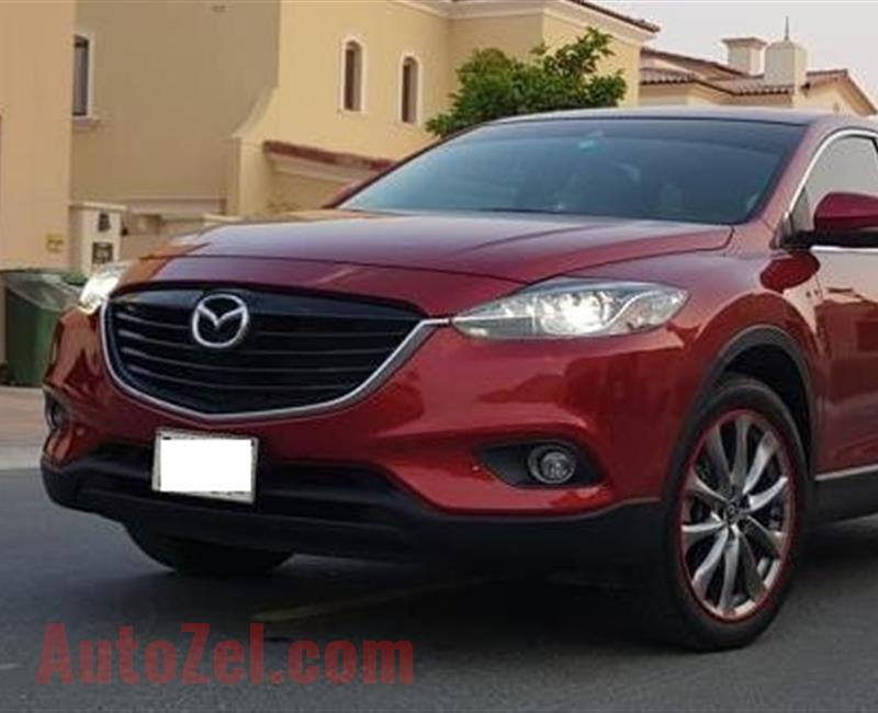 MAZDA CX-9 - 2016 MODEL- WITH WARRANTY UNTIL SEPT 2020 0R UNTIL 140K KM
