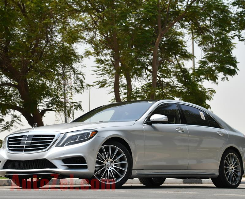 MERCEDES S550 - 2014 - V8 - AMERICAN SPECS - PRICE RANGE 3827 PER MONTH - BANK LOAN 0 DOWNPAYMENT