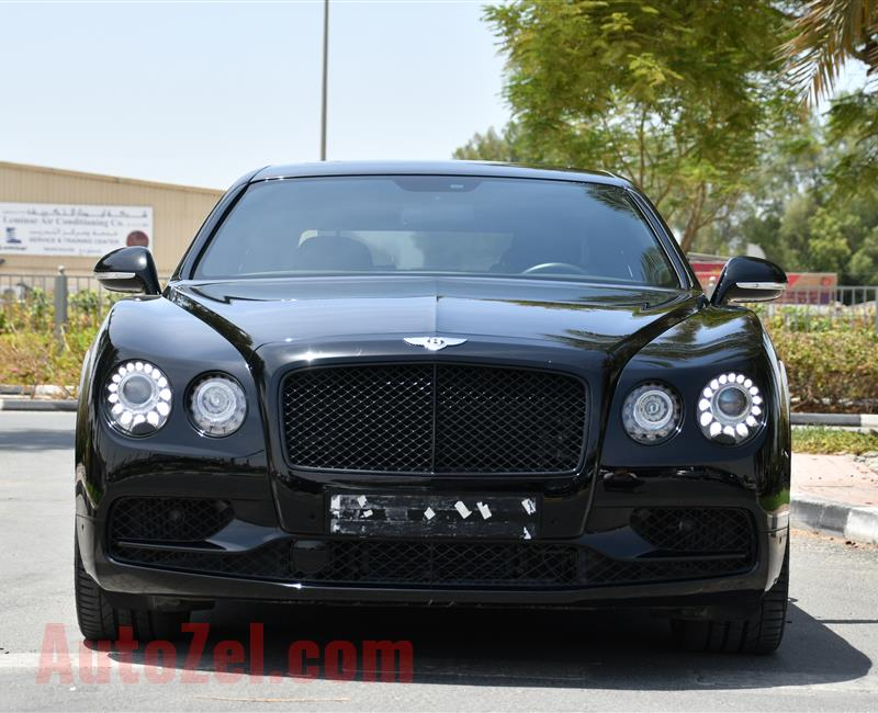 BENTLEY CONTINENTAL FLYING SPUR - W12S - 2017 - FREE SERVICE CONTRACT - WARRANTY - GCC SPECS- 11 000 KM
