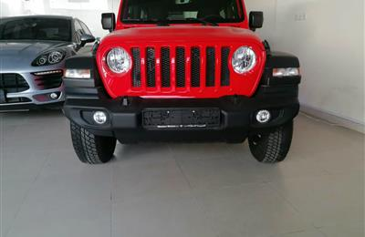 BRAND NEW JEEP WRANGLER UNLIMITED- 2019- RED- ZERO KM- GCC