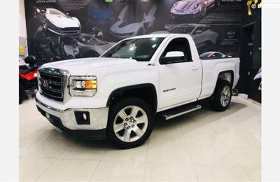 GMC Sierra SLE - 2015- WHITE- 129 000 KM - GCC - ONE YEAR...