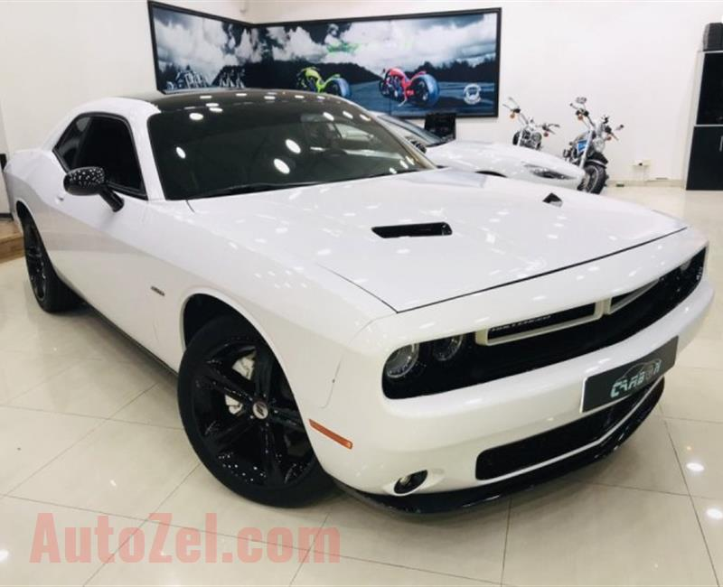 Dodge Challenger R/T 5.7L V8 HEMI Coupe - 2017 - UNDER WARRANTY - ( 1,300 AED PER MONTH )