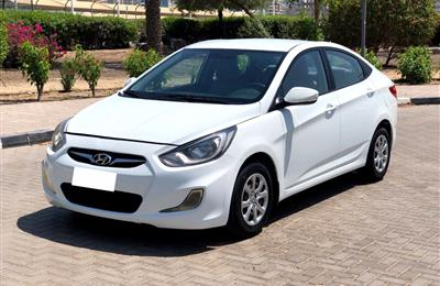 Well Maintained 2013 HYUNDAI ACCENT 1.6 GCC Brand new 2019...