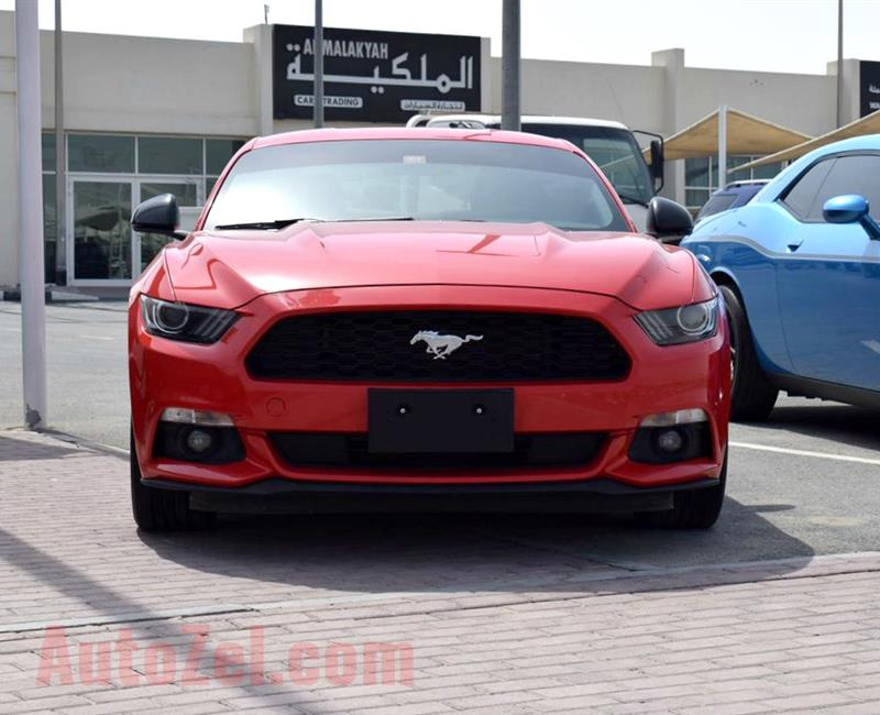 FORD MUSTANG- 2015- RED- GCC SPECS