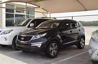 KIA SPORTAGE MODEL 2015 - BLACK - V4 - GCC