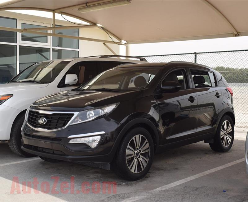 KIA SPORTAGE MODEL 2016 - BLACK - V4 - GCC