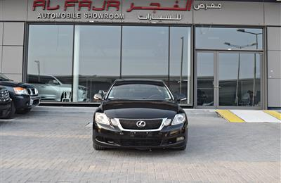 LEXUS GS300 MODEL 2011 - BLACK - 293,000 KM - V8 - GCC