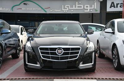 CADILLAC CT5- 2014- BLACK- 50 000 KM- GCC