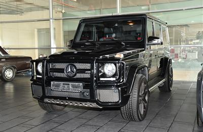 MERCEDES-BENZ G63- 2013- BLACK- 131 000 KM- GCC