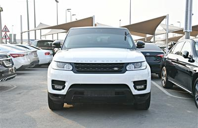 RANGE ROVER MODEL 2017 - WHITE - 53,000 KM - V8 - GCC