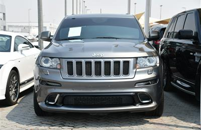 JEEP GRAND CHEROKEE MODEL 2012 - GREY - 220,000 KM - V8 -...