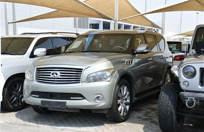 INFINITI QX56 MODEL 2012 - GREEN - 383,000 KM - V8 - GCC