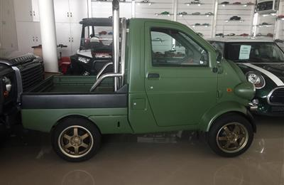 DAIHATSU MIDGET II- 1975- GREEN- GCC, MANUAL GEAR