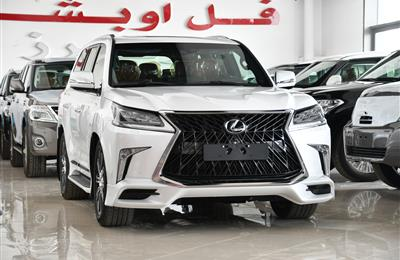 LEXUS LX570 MODEL 2019 - WHITE - ZERO KM - V8 - GCC