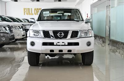 NISSAN PATROL SAFARI  MODEL 2019 - WHITE -V6 - GCC