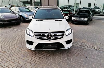 MERCEDES-BENZ GLS500- 2016- WHITE- 144 000 KM- GCC