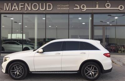 MERCEDES-BENZ GLC250- 2017- WHITE- 85 000 KM- GCCC