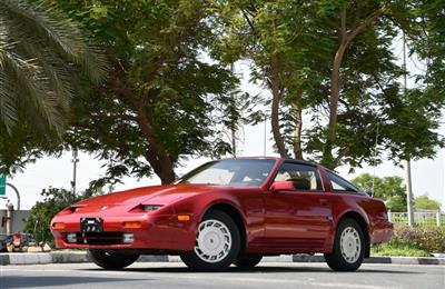 NISSAN 300ZX- 1989- MANUAL GEAR- RED- AMERICAN SPECS