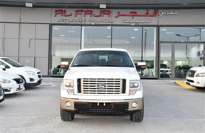 FORD F150 MODEL 2014 - WHITE - 170,000 KM - V8 - GCC