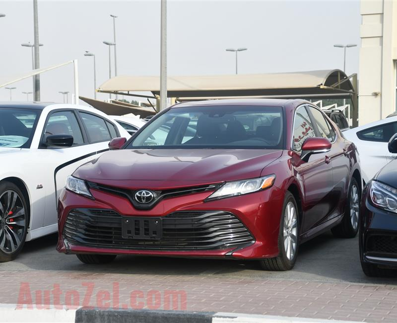TOYOTA CARMY MODEL 2018  - RED  - 2,000 mileage - v4 - car specs  is AMERICAN
